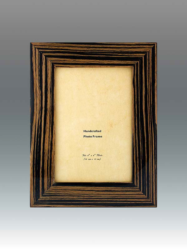 4x6 Wood Frame Ebony